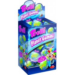 GUMMI PLANET TROLLI FRUIT 18GR X40