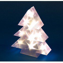 X-MAS ALBERI LOTTI MAGIC 3D 10 LED CLASSIC 3AA 30CM