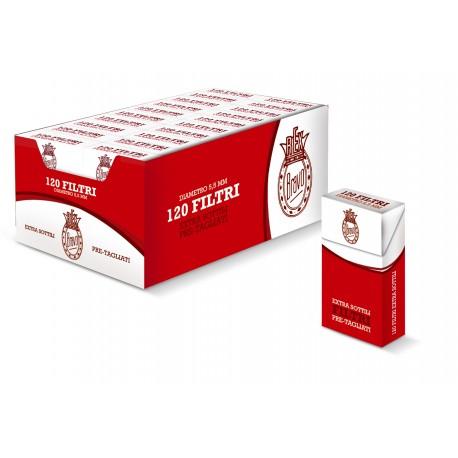 FILTRI ULTRA SLIM REX BRAVO CAFIL 5,5MM 120 X20  2400PZ - C00021007