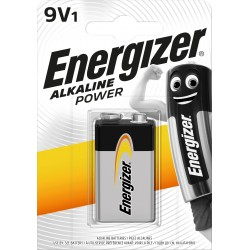 PILE ENERGIZER 9V 1PZ 522 POWER X12