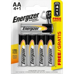 PILE ENERGIZER AA 4+1 E91 POWER X24