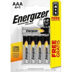 PILE ENERGIZER AAA 4+1 E92 POWER 5PZ X24