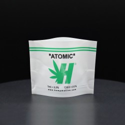 HEMP CANAPA LEGALE HEMPMOTIVE ATOMIC THC 0,5% CBD 25% 1GR - cime