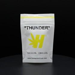 HEMP CANAPA LEGALE HEMPMOTIVE THUNDER THC 0,5% CBD 25% 1GR - cime