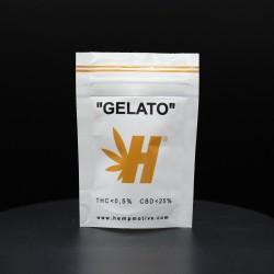 HEMP CANAPA LEGALE HEMPMOTIVE GELATO THC 0,5% CBD 25% 1GR - cime