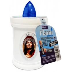 LUMINI FLAMI' USA E GETTA BIANCO LUCE BLU 90GG X20 - luce azzurra