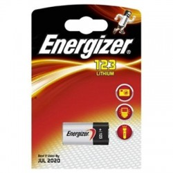 PILE ENERGIZER FOTOCINE EL123AP 3V - singola