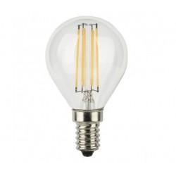 LAMPADINE SFERA CHIARA FILAMENT LED E14 4W P45 2700K DYA 400 LUMEN 45X78MM