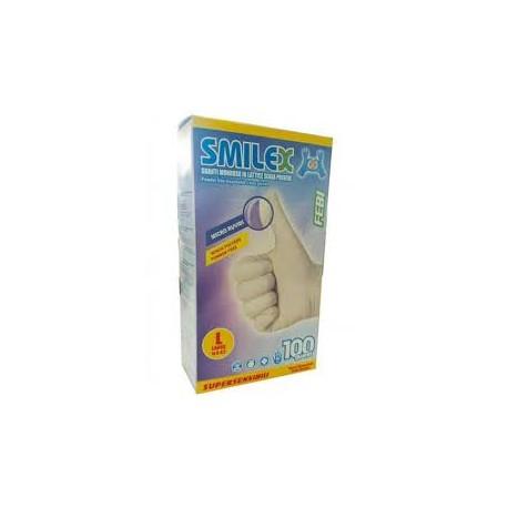 BODY GUANTI IN LATTICE SMILEX MIS. L 100PZ - art. esente iva