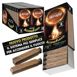 FIAMMIFERI - ACCENDIFUOCO 20PZ MARSIGLIA X20 brucia per 8 minuti *****