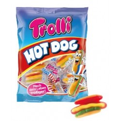 GUMMI TROLLI HOT DOG 150GR BOX X7 - blister