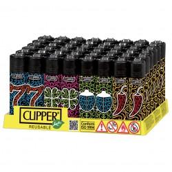 ACCENDINI PIETRINA CLIPPER LARGE RIC. BLACK FORTUNE X48