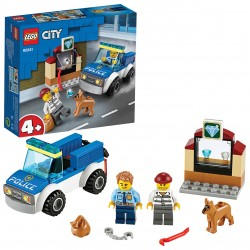 LEGO CITY UNITA' CINOFILA POLIZIA 60241