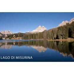 MAGNETI TURSITICI - LPT80037 LAGO DI MISURINA