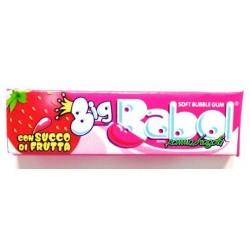 BUBBLE GUM BIG BABOL MEGA PANNA & FRAGOLA X24