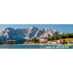 MAGNETI TURSITICI - LPT80035 LAGO DI MISURINA