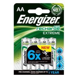 PILE RICARICABILE ENERGIZER EXTREME 4 HR6 AA NH15 2300MAH precaricate - singola