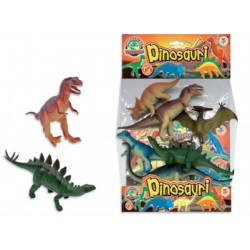 GEO NATURE DINOSAURI IN BUSTA 6PZ