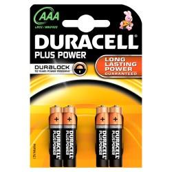 PILE DURACELL AAA 4PZ MN2400 POWER X10