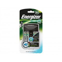CARICATORI ENERGIZER PRO CHARGER + 4AA 2000MAH POWER PLUS precaricate