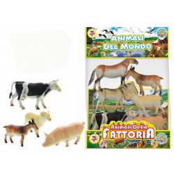 GEO NATURE ANIMALI FATTORIA 6PZ
