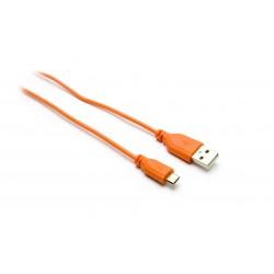 CAVI G&BL SS USB A MICRO USB ARANCIONE 1MT - 7112