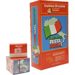 FIAMMIFERI FAMILIARI 100PZ TESTA ROSSA MARSIGLIA 48MM X50