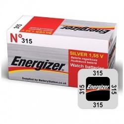 PILE ENERGIZER OROLOGI 315 X10