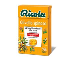 CARAMELLE RICOLA ASTUCCIO OLIVELLO SPINOSO 50GR X20