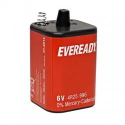 PILE EVEREADY NR425R - 4R25 6V con molle