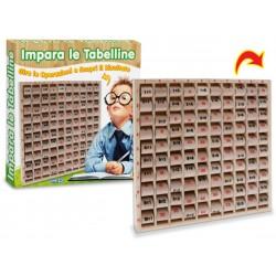 GIOCHI LEGNO TABELLINE WINDOW BOX