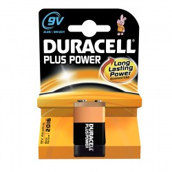 PILE DURACELL 9V 1 MN1604 POWER X10