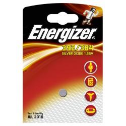 PILE ENERGIZER OROLOGI 392/384 LR41-SR41 LR736 SG3-AG3 - singola