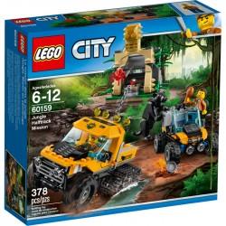 LEGO CITY SEMICINGOLATO MISSIONE NELLA GIUNGLA