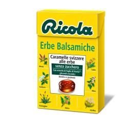 CARAMELLE RICOLA ASTUCCIO ERBE BALSAMICHE 50GR X20