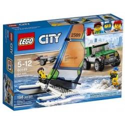 LEGO CITY PICK UP 4X4 CON CATAMARANO