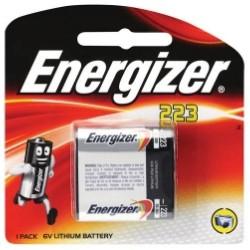 PILE ENERGIZER FOTOCINE EL223AP 6V - singola