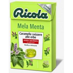 CARAMELLE RICOLA ASTUCCIO MELA MENTA 50GR X20