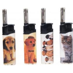 ACCENDIGAS PIEZO MINI PROF RIC. COBIA CATS & DOGS X50