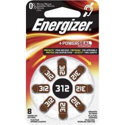 PILE ENERGIZER ACUSTICA 8 AC312 1,4V - singola