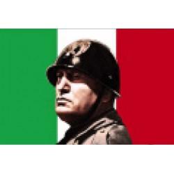 MAGNETI M5 - LO ZIO BENITO MUSSOLINI BANDIERA ITALIA
