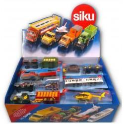 SIKU 6016 MEZZI IN METALLO MIX 16CM X25 - blister
