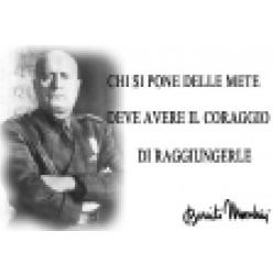 MAGNETI M4 - LO ZIO BENITO MUSSOLINI CHI SI PONE...