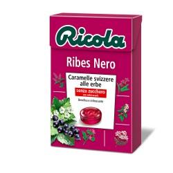 CARAMELLE RICOLA ASTUCCIO RIBES NERO 50GR X20
