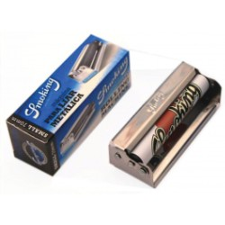 ROLLING MACHINE REGULAR SMOKING METAL 70MM BOX X10 - metallo