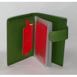 PORTACARDS CONTE M. VERDE 18 CARD