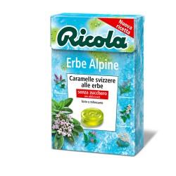 CARAMELLE RICOLA ASTUCCIO ERBE ALPINE 50GR X20