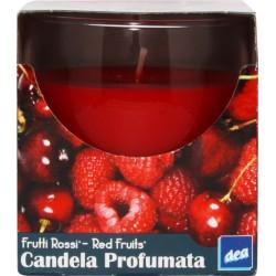 CANDELE DEA PROFUMATE GLASS RED FRUIT