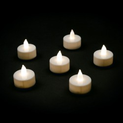 X-MAS TEALIGHT LOTTI LED CLASSIC FIAMMA + 1CR2032 3,5X3,8CM X6