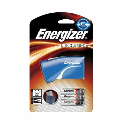 TORCE ENERGIZER POCKET LED LIGHT +2AAA